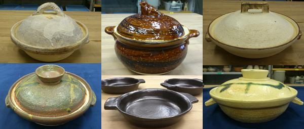 ~2012年冬~ まだん陶房では今、皆さん土鍋を作っていますよ!